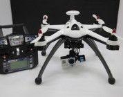 Flying 3D X8, completo dron de grandes alturas