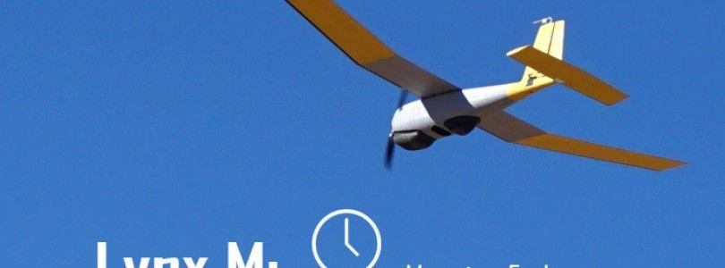 Lynx M, un avión con 3 horas de autonomía