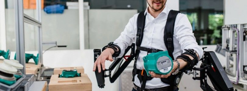 La robótica podría dar super fuerza a los trabajadores
