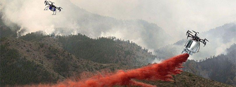 Continúa la batalla contra los drones que entorpecen a los bomberos