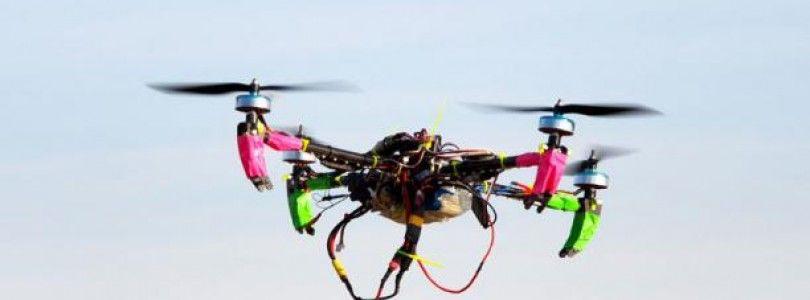 Twitteando con un dron