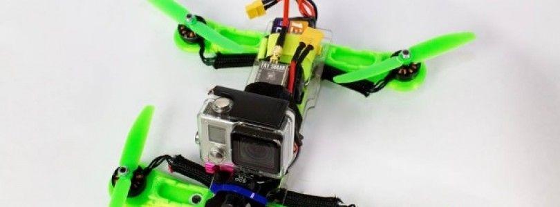 Zippy Racing, un crowdfunding para crear un cuerpo de dron de carreras