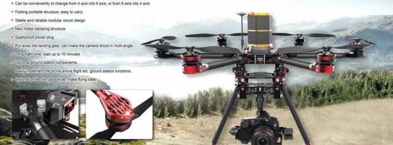 Impresionante vídeo del Walkera QR X900