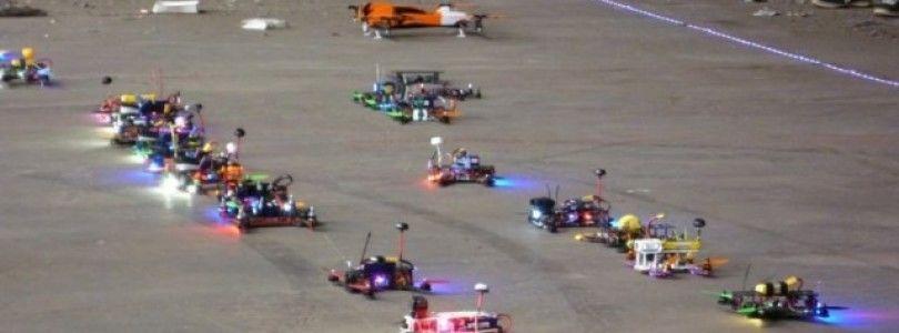Australia es posiblemente el país con mas cultura de carreras de drones del mundo