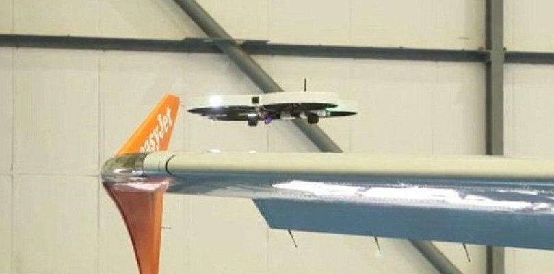 Easyjet usa drones para la inspección de sus aviones