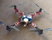 En busca del dueño de un dron estampado en un restaurante