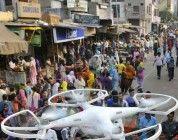La policía de Delhi prohibe totalmente el vuelo no tripulados