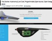 The Dronee, un proyecto de bajo coste, autónomo, programable y open source y open hardware