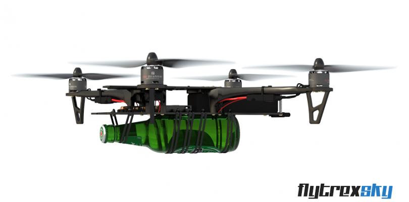 Flytrex Sky, no es solo un dron para transportar cerveza