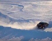 DJI nos muestra una carrera el ártico desde el aire