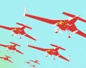La primera guerra con drones chinos está en curso