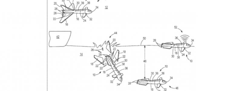 Boeing patenta un dron que se convierte en un submarino