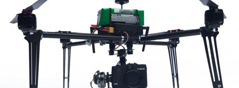 Easy Dron XL Pro, 40 minutos de filmación con una GoPro