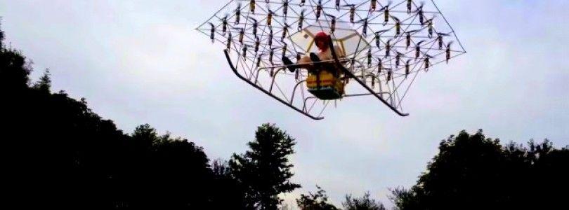 The Swarm, un proyecto capaz de levantar 148 kg.