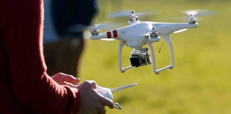 Alta de piloto de drones