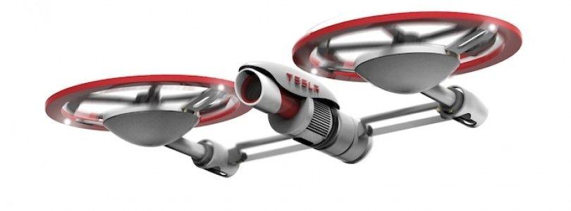 El dron de Tesla quiere revolucionar el mundo de los drones comerciales