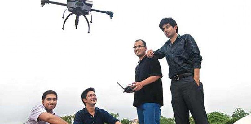 Netra, el dron que ha pasado del cine a la policía