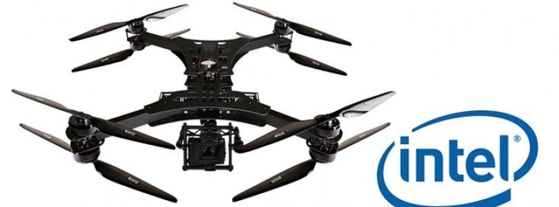 Intel y su mejora para drones
