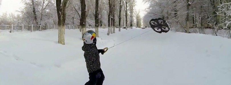 Un nuevo deporte, droneboarding